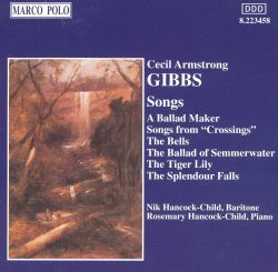 Nik Hancock-Child - Cecil Armstrong Gibbs: Songs