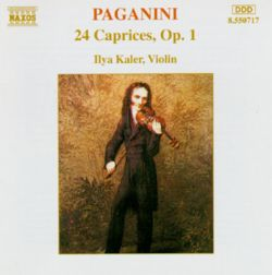 paganini 24 caprices op 1 ilya kaler songs reviews credits allmusic. Black Bedroom Furniture Sets. Home Design Ideas
