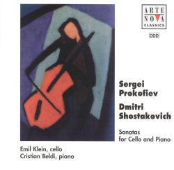 Emil Klein - Prokofiev, Shostakovich: Sonatas for Cello and Piano