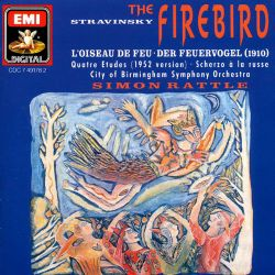 Stravinsky: The Firebird; Scherzo à la russe; Four Studies
