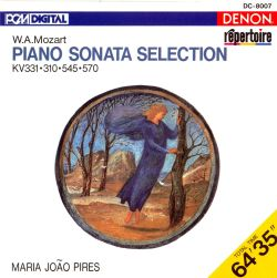 Mozart: Piano Sonata Selection