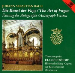 The Art of Fugue, Autograph Version
