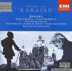 Brahms: Piano Concerto No. 2; Variations on a Theme by Haydn
