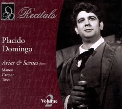 Plácido Domingo - Plácido Domingo Sings Arias & Scenes, Vol. 2