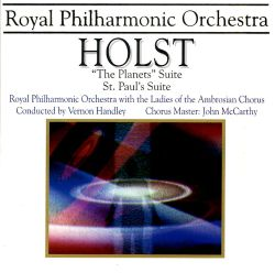 Holst: The Planets; St. Paul's Suite