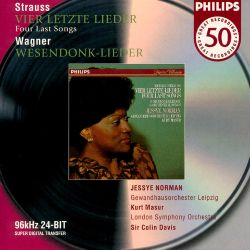 Strauss: Four Last Songs; Wagner: Wesendonck-Lieder