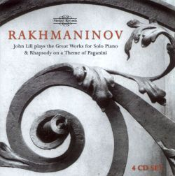 John Lill - Rachmaninov: Great Works for Solo Piano & Rhapsody on a Theme of Paganini
