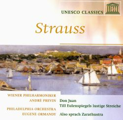 Eugene Ormandy / André Previn - Strauss