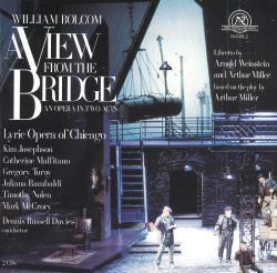 Bolcom: A View from the Bridge