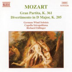 Richard Edlinger - Mozart: Gran Partita / Divertimento in D