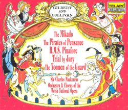 Gilbert & Sullivan - The Mikado/Pirates of Penzance/HMS Pinafore/Trial by Jury/The Yeomen of the Guard
