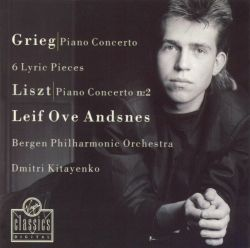 Grieg: Piano Concerto; 6 Lyric Pieces; Liszt: Piano Concerto No. 2