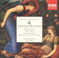 Anthony Rolfe Johnson - Song Cycles and Songs by Vaughan Williams, Warlock, Butterworth and Gurney
