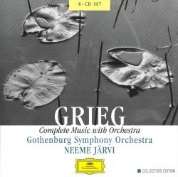 Neeme Järvi - Grieg: Complete Music with Orchestra