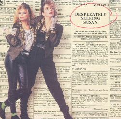 Desperately Seeking Susan & Making Mr. Right: Original Soundtracks from the Films of Susan Seidelman