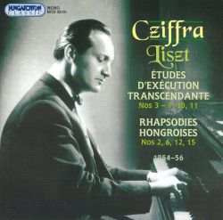 György Czifra At the Piano: Works By Liszt