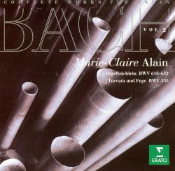 Marie-Claire Alain - J.S. Bach: Complete Works for Organ, Vol. 2