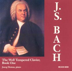 Jörg Demus - Bach: The Well-Tempered Clavier, Book One