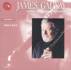 60 Years, 60 Flute Masterpieces, Vol. 3: Mozart