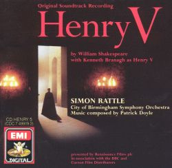 Simon Rattle / Patrick Doyle - Henry V [Original Soundtrack]