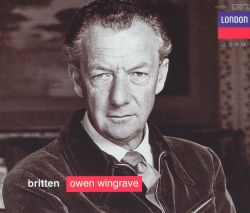 Benjamin Britten - Britten: Owen Wingrave; Six Hölderlin fragments; The Poet's Echo
