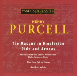 Purcell: The Masque in Dioclesian / Dido and Aeneas