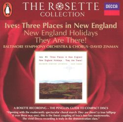Ives: Three Places in New England; New England Holidays; They Are There!
