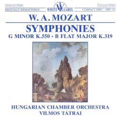 W.A. Mozart: Symphonies G minor K. 550, B flat major K. 319