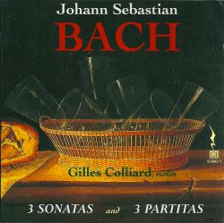 Bach: 3 Sonatas and 3 Partitas