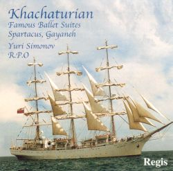 "Khachaturian: Symphonic Highlights from ""Gayane,"" ""Spartacus"" & ""Masquerade"""