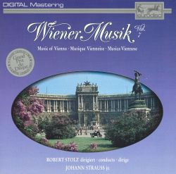 Robert Stolz - Wiener Musik (Music of Vienna), Vol. 7
