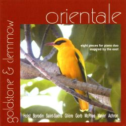 Goldstone & Clemmow Piano Duo - Orientale