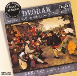 "Dvorak: Symphony Nos. 8; Symphony No. 9 ""New World"""