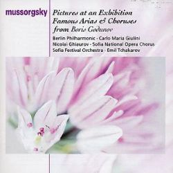 Mussorgsky: Pictures at an Exhibition; Famous Arias and Choruses from Boris Godunov