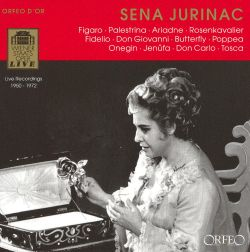 Sena Jurinac - Sena Jurinac sings Mozart, Strauss & Puccini
