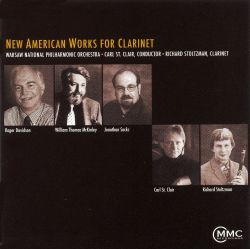 Richard Stoltzman - New American Works for Clarinet