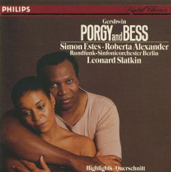 Gershwin: Porgy and Bess [Highlights]