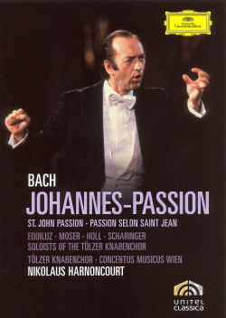 Nikolaus Harnoncourt - Bach: Johannes-Passion [DVD Video]
