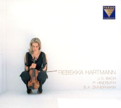 Rebekka Hartmann plays Bach, Hindemith & Zimmermann