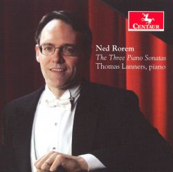 Ned Rorem: The Three Piano Sonatas