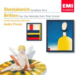 "Shostakovich: Symphony No. 4; Britten: Four Sea Interludes from ""Peter Grimes"""