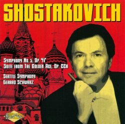 Shostakovich: Symphony No. 5; Suite from the Golden Age