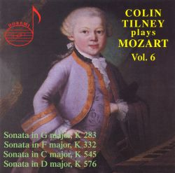 Colin Tilney plays Mozart, Vol. 6