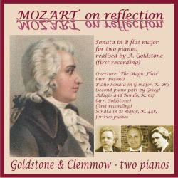 Goldstone & Clemmow Piano Duo - Mozart on Reflection