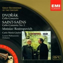 Dvorák: Cello Concerto; Saint-Saëns: Cello Concerto No. 1