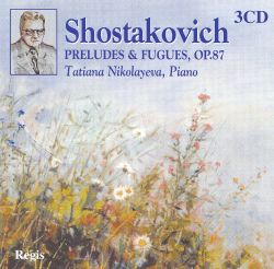 Dmitri Shostakovich: 24 Preludes and Fugues for Piano, Op. 87