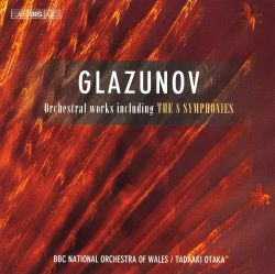 Glazunov: Orchestral Works Including The 8 Symphonies [Box Set] - Tadaaki Otaka