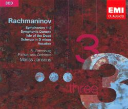 Rachmaninov: Symphonies 1-3, Symphonic Dances; Isle of the Dead; Scherzo in D