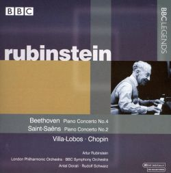 Rubinstein plays Beethoven, Saint-Saëns, Villa-Lobos & Chopin