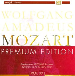 W.A. Mozart Premium Edition, Vol. 39